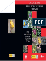 2008 Lista Roja Flora ...ESPAÑA