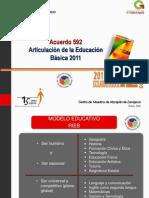 Acuerdo 592 Normal de Atizapán