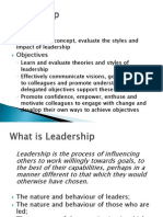Chapter 6 - Leadership