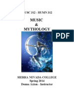 Musc312- Music and Mythology