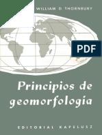 Principios de Geomorfologia