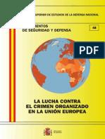 048 La Lucha Contra El Crimen Organizado en La Union Europea