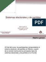 Sistemas Electorales y de Partidos