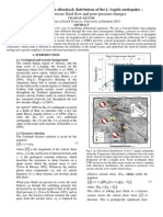 Investigations into the aftershock distribution of the L'Aquila earthquake – modelling porous fluid flow and pore pressure changes.