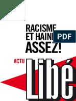 Libé - Racisme et haine, assez.epub