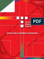 Manual Para El Desarrollo Profesional TES