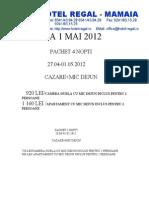 Oferta 1 Mai 2012 Agentii