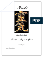 Usui Reiki Ryoho -Okuden - Segundo Grau - 2011