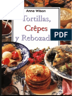 Tortillas, Crepes y Rebozados - Anne Wilson
