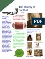 history of football copy