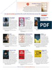 LibraryReads March 2014 Top Ten List