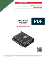 409510 ESCON 50 5 Hardware Reference En
