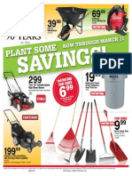 Seright's Ace Hardware Plant Some Savings Sale