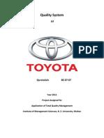 Toyota Repot