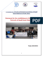 Statement for the Establishment of the Tunisian Network of Traditional Fishing