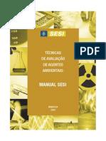 SESI - Tecnicas Avalição de Agentes Ambientais