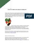 Osnovni principi zdrave ishrane,