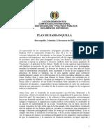 Plan de Barranquilla