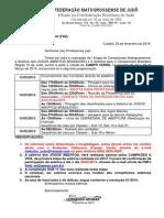 Of.cir.001-2014 Informe Da i Etapa e Seletiva Regional