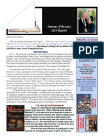 January February 2014 Report