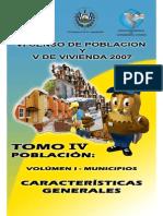 Tomo IV Vol.I Municipios Caracteristicas Generales
