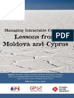 Managing Intractable Conflicts Transnistria and Cyprus