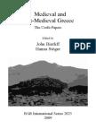 Bintliff Medieval Greece