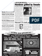 Alberto Gonzales Files - Daily News article