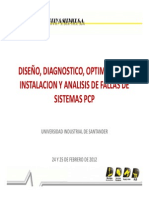 DISEÑO, DIAGNOSTICO, OPTIMIZACION, INSTALACION Y ANALISIS DE FALLAS DE SISTEMAS PCP