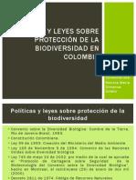 Políticas y leyes sobre protección de la biodiversidad