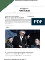 2014-03-02 Ukraine Rede von Bernard-Henri Levy