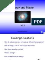 Energy Matter Bonding