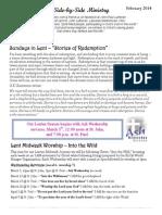 Newsletter, March 2014