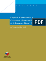 Marco Curricular y Actualización 2009 I° a IV° Medio