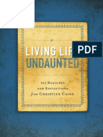 Living Life Undaunted Sample