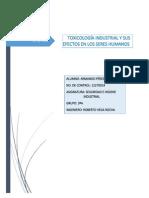 Toxicologia Industrial y Sus Efectos en Los Seres Humanos