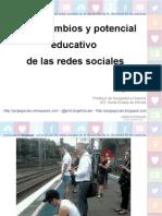 Usos, cambios y potencial educativo de las redes sociales
