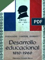 Desarrollo educacional 1810-1960