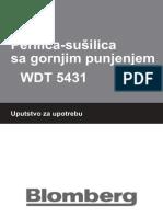 Blomberg Perilica+Susilica WDT5431 Eng