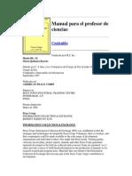 Manual Para El Profesor de Ciencias