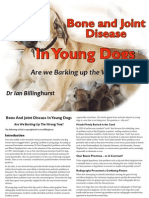 Bone and Joint Disease in Young Dogs