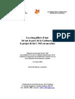 Les députés doivent modifier le projet de loi néo-démocrate sur le parc de la Gatineau -- C-565-mémoire-cppg