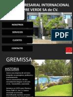 gremissa jardineria y paisajismo 2012-2013
