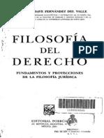 FILOSOFIA DEL DERECHO - AGUSTÍN BASAVE FERNÁNDEZ DEL VALLE
