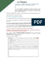 Instruções para reinstalação - PC709S - 4755J e 6103A
