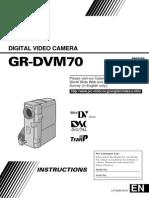 Gr-dvm70 Jvc Camcorder