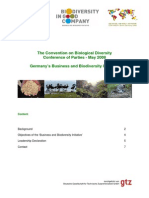 germany´s business and biodiversity iniatitve