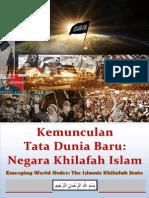 Buku Kemunculan Tata Dunia Baru Negara Khilafah Islam