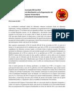 Llamado inmediato a la Movilización y al Congreso Universitario - CEUD