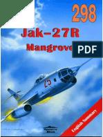 Wydawnictwo Militaria 298 - Jak-27R Mangrove